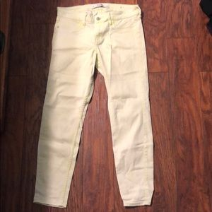 Women's Abercrombie & Fitch Lime Green Jegging